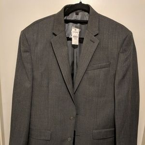 Express wool light gray blazer, 40R